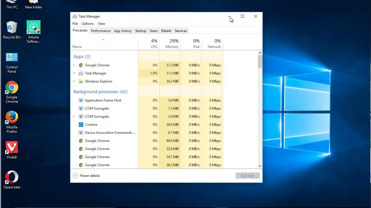 Uninstall Arturia Software Center on Windows 10 Creators Update