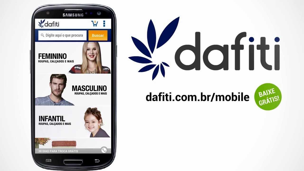 591f9f7d Aplicativo da Dafiti para Android - YouTube