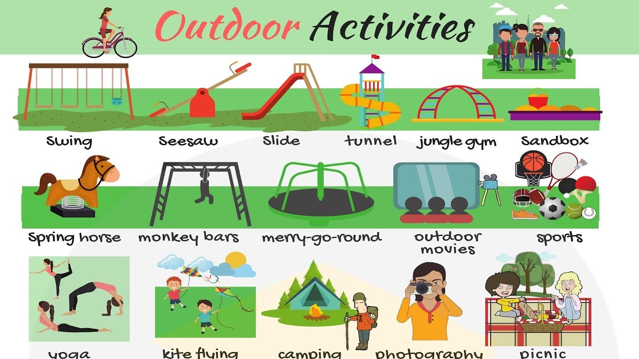 Outdoor Activities Useful List Of Games In