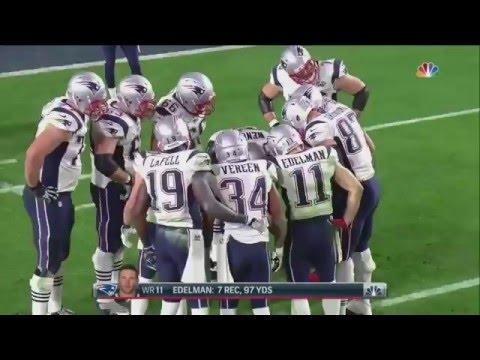 SUPER BOWL XLIX - Patriots vs Seahawks (4th Quarter)