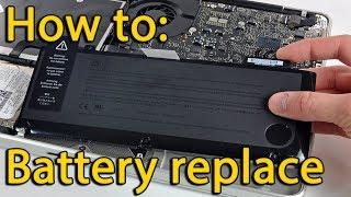 Asus ROG G751 disassembly and battery replace, как разобрать и поменять батарею ноутбука
