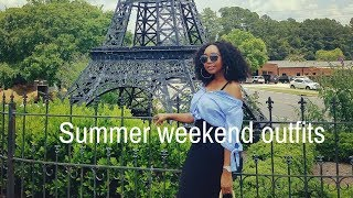 Summer weekend outfit ideas