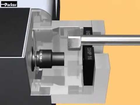 Parker EOMAT ECO Montagemaschine   hydraulics hose depot