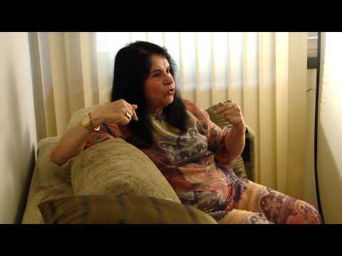 Mari Terezinha entrevistada pela RBS, maio de 2013 bastidores)