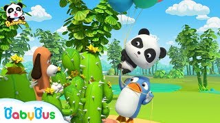 Help! Prickly Cactus | Baby Panda's Magical Chinese Characters | BabyBus
