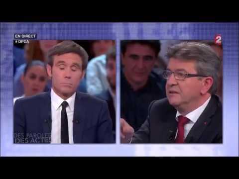 MÉLENCHON : «IL Y A D'ABORD LE PROBLÈME DE LA GUERRE» - Des Paroles & Des Actes le 26 mai 2016