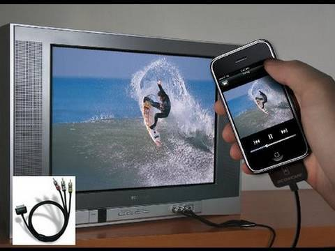 watch tv on iphone how to display your iphone amp ipod touch on a tv tvout2 6401