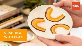 Polymer Clay Basics   DIY Trinket Dish Tutorial   Hobby Lobby®