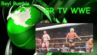 Fastest Royal Rumble Match eliminations  WWE 2017