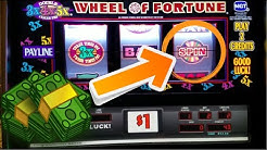 MY BIGGEST WINS ON THE WHEEL OF FORTUNE SLOT MACHINES FROM 2019