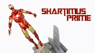 Marvel Select Iron Man Bleeding Edge Armor Model 38 Action Figure Review