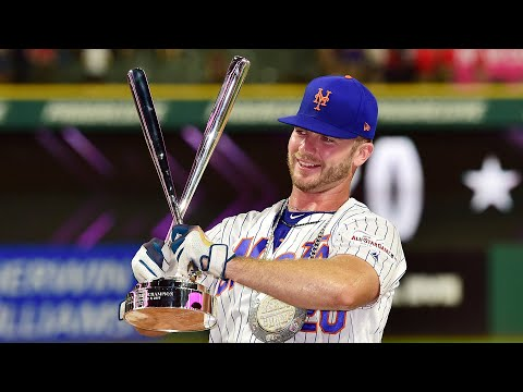 Every Swing From Pete Alonso's Home Run Derby Victory