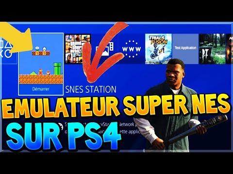 INSTALLER UN EMULATEUR SUPER NES SUR PS4 !