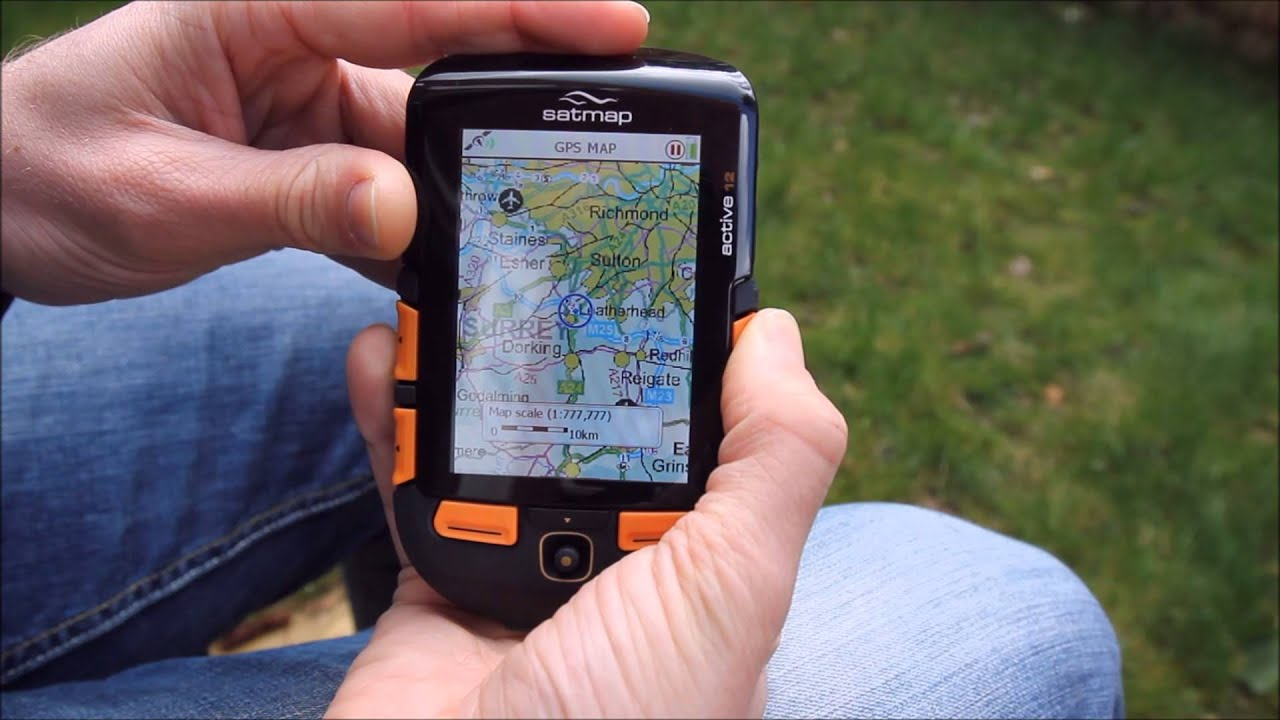satmap gps kart Satmap Systems Ltd   How to view the map on the Active 10 or  satmap gps kart