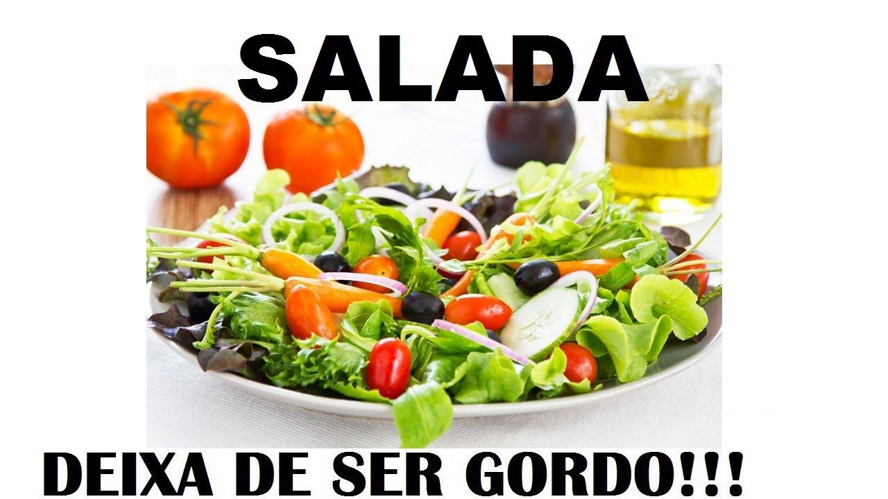 dieta so de salada emagrece