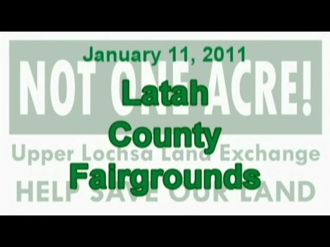USFS, Rocky Mountain Elk Foundation, and WPT at the Latah County Fairgrounds - January 11, 2011