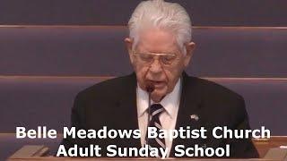 Adult Sunday School 2018.09.23