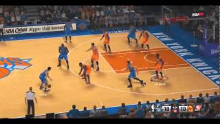NBA 2K15 Timberwolves vs Knicks HD Gameplay