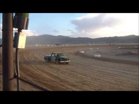 great basin raceway, MCR points race..  truck heat races 1 & 2