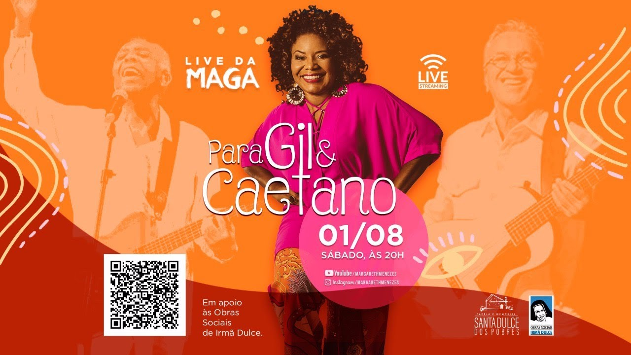 "Live da Maga ""Para Gil e Caetano"""
