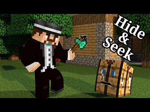 Minecraft PE Minihry #10 | Hide and Seek | Magician | CZ/SK