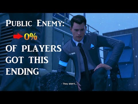 Detroit Become Human - Chapter Public Enemy : 0% of Players Got This Ending