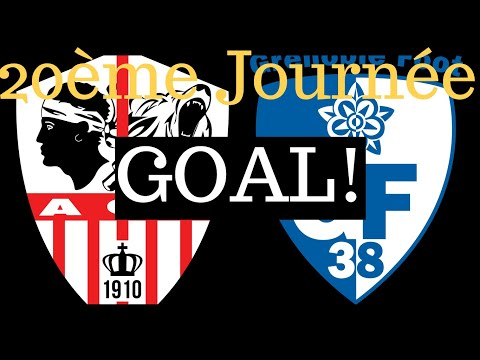 AC Ajaccio Grenoble Goals And Highlights