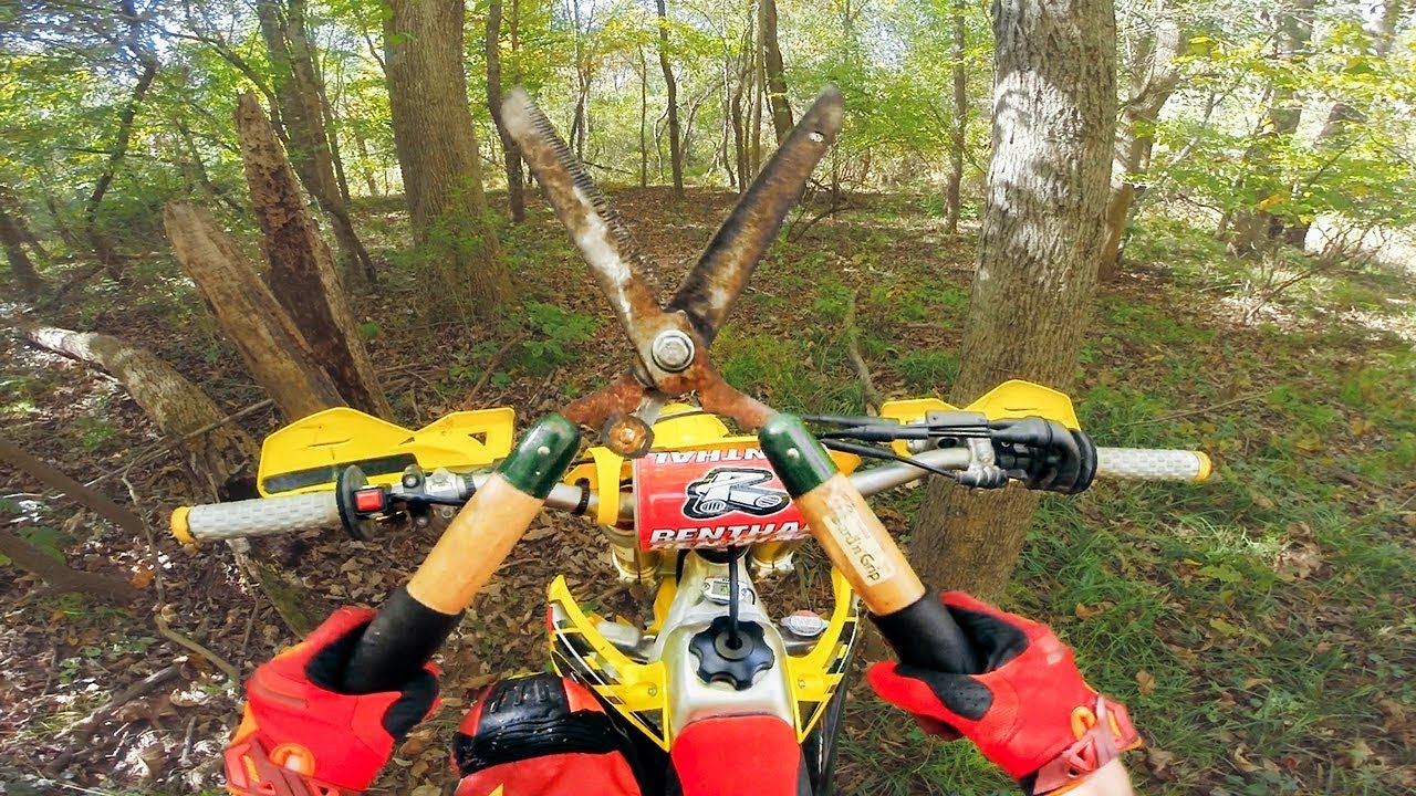 Dirtbike Trails OVERGROWN!