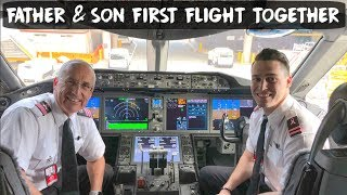 FATHER & SON PILOT DUO - FIRST FLIGHT TOGETHER | USA - VLOG #83