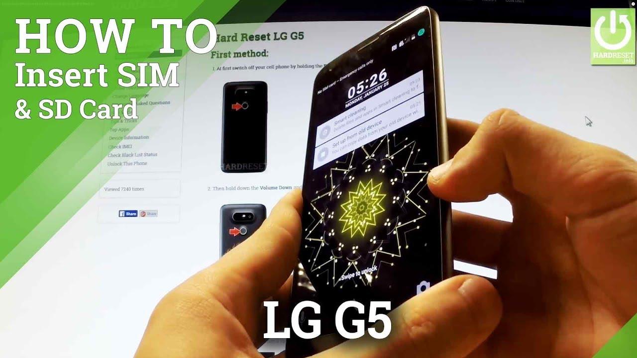 Resetting Videos LG G5 F700L - HardReset info