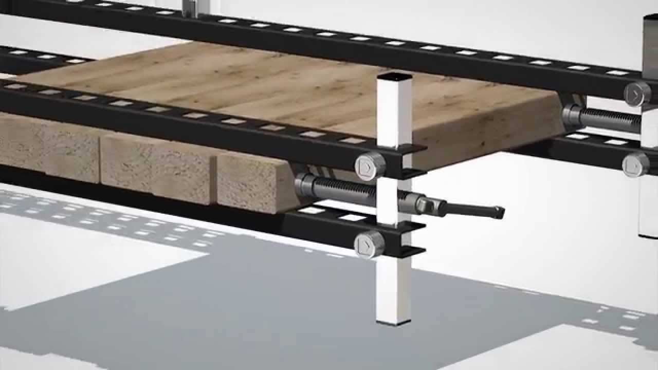 Damstom Serre-joint D300 Wood Panel Clamp - YouTube