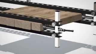 Damstom Serre-joint D300 Wood Panel Clamp