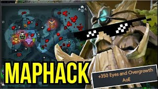 MAPHACK - Cancer Talent +350 Eyes and Overgrowth Treant Protector by Waga 7.07 | Dota 2