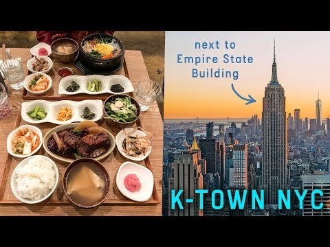 K-TOWN NYC ♦ Korean Food in New York City