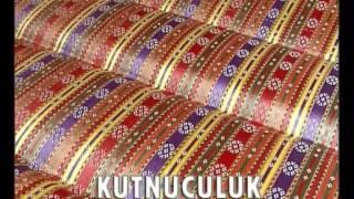 gaziantep'in dünyaca ünlü kutnu kumaşı yapım aşamaları