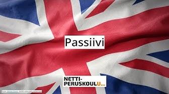 Englanti: Passiivi (perusopetus)