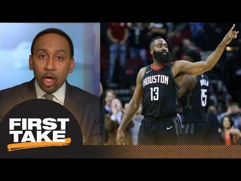 Stephen A. Smith has total confidence in James Harden | First Take | ESPN