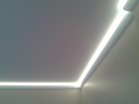 Карниз для подсветки потолка