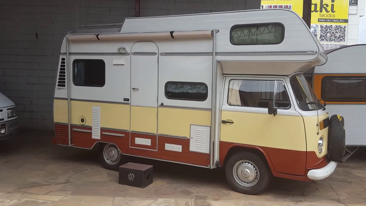 Vendido Kombi Safari Karmann Ghia 1983 Kirsch Motorhomes 3 Youtube