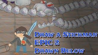 draw a Stickman EPIC 2 Drawn Below ДОПОЛНЕНИЕ СТИКМЕН СЛОЖНЫЙ ЛАБИРИНТ