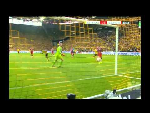 Dortmund 1 0 Bayern  MKHITARYAN H  GOAL