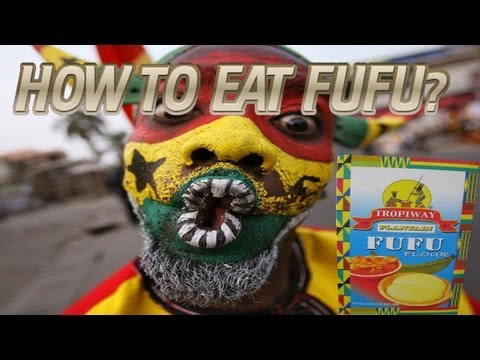 How to eat Fufu?