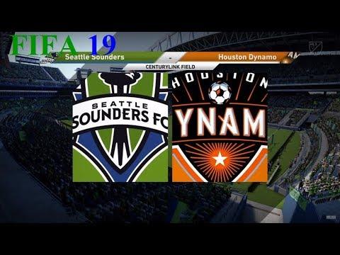 FIFA 19 - Mls - Seattle Sounders Vs. Houston Dynamo @ Centurylink Field