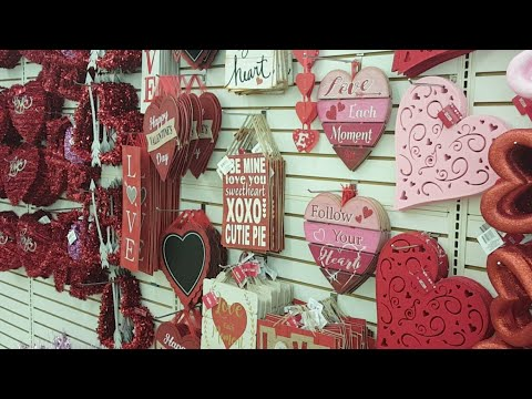 Live At Dollar Tree Valentine S Day It S New Years Eve Youtube