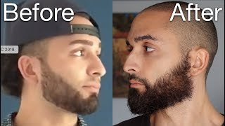 How To Grow/Trim The Perfect Beard
