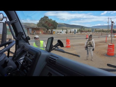Are You Afraid Of The Mexican Military? BAJA TRUCK CAMPING