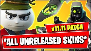 *ALL* UNRELEASED SKINS COMING TO FORTNITE (Bao Bros, AIRHEAD) - Fortnite v11.11 Patch Notes