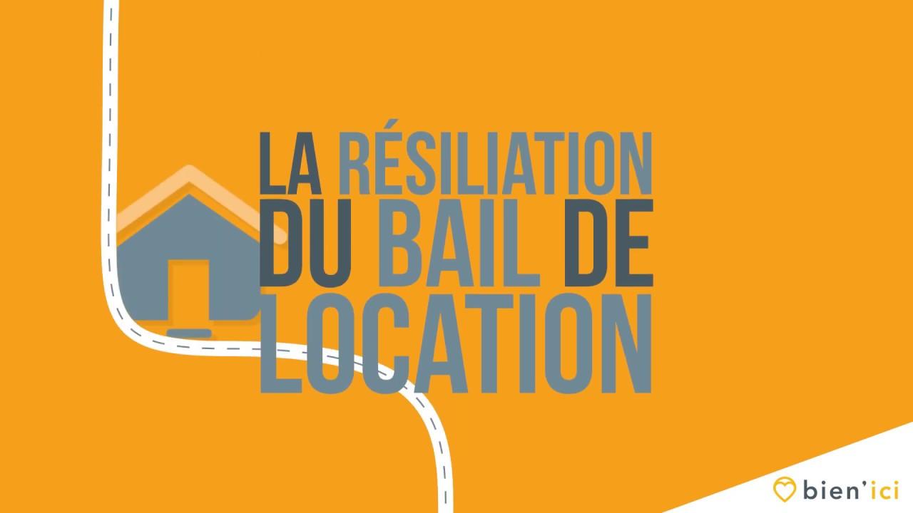 Lettre De Résiliation Du Bail Par Le Locataire
