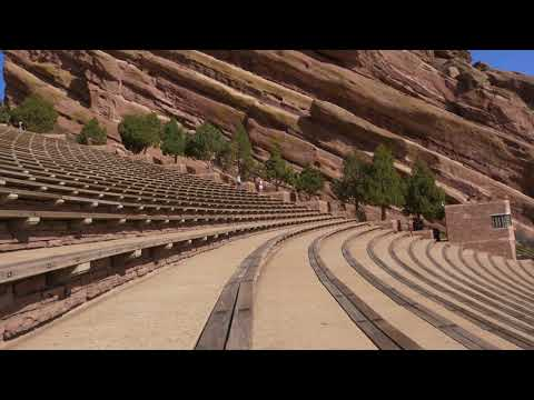Red Rock Park and Amphitheater, Denver, Colorado 4K | UHD