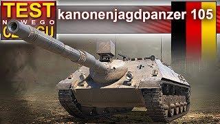 Kanonenjagpdpanzer 105 - wymieniać i się nie zastanawiać - World of Tanks